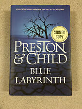 Blue Labyrinth by Douglas Preston and Lincoln Child Signed Copy Hardcover