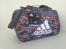 NWT Adidas Diablo Crusher Ultra Bright/Onix Small Duffle Sport Gym Overnight Bag