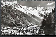 Carte postale ancienne CHAMONIX - L'Aiguille du Midi et le Mont-Blanc