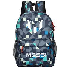 New Lionel Messi Logo Barcelona 10 Bag Casual Laptop Schoolbag Sack VB03