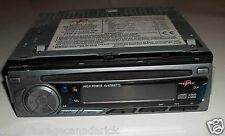 Prestige Audiovox P-98 Car Radio AM/FM/MPX With CD Player & Clock Works Great