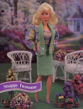 Snappy Twosome Outfit for Barbie Doll Annie's Crochet Pattern 30 Days To Pay!