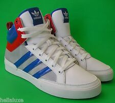 Adidas TOPCOURT METALLIC Top superstar Basketball ten Court Shoe decade~Men 11.5