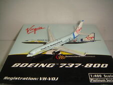 "Phoenix 400 Virgin Blue Airlines B737-800WL ""Head to Queensland color"" 1:400"