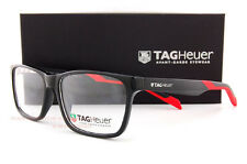 Brand New TAG Heuer Eyeglass Frames B URBAN 0552 006 Shiny Black/Red Men Women