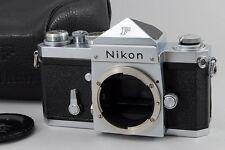 Exc+++++ Nikon F Eyelevel 35mm SLR 644xxxx Nippon Kogaku Prism Super Beautiful