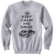 ALFA ROMEO 75 TURBO KEEP CALM 2 P - COTTON GREY SWEATSHIRT ALL SIZES IN STOCK