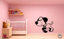 Wall Sticker For Kids Baby Dog Puppy Cool Decor for Nursery Room z1408