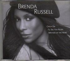 (CD931) Brenda Russell, Catch On/I'll See You Again/Matters Of The Heart- DJ CD