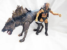 """Lord of the rings sharku with warg action figures 6"""" scale"""