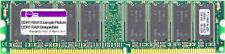 512MB Kingston DDR1 RAM PC3200U 400MHz CL3 KVR400X64C3A/512 Recto-verso Module