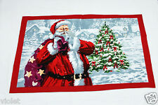 Father Christmas tea towel NEW perfect gift Santa Claus 100% cotton Holidays