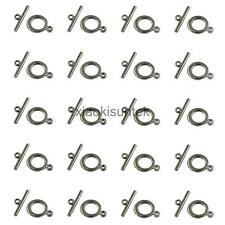 20 Sets Hematite Gun Black Toggle Clasps Jewelry Findings For Craft charms