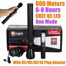 Mr Light 800meter CREE LED TACTICAL POLICE FLASHLIGHT TORCH 1 Mode +2000mAh BATT