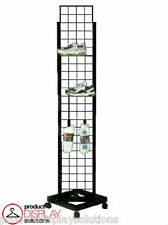 """FREE SHIPPING!! Grid Gridwall Rolling Display Tower 
