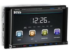 "BLUETOOTH BOSS 7"" LCD DVD CD MP3 PLAYER FM RADIO USB SD AUX-IN CAR STEREO VIDEO"