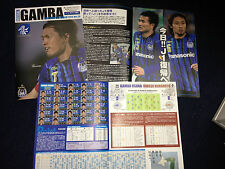 Japan Football J.League Gamba Osaka match day program ENDO cover USAMI J2 rare!
