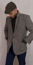 VINTAGE HARRIS TWEED LANA BLAZER JACKET uk38 Short