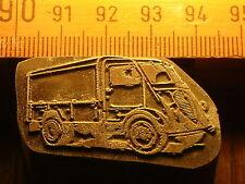 PEUGEOT D3A D4A   schöner Oldtimer Stempel / Siegel aus Metall