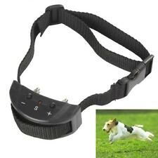 Black Anti Bark No Barking Electric Shock Vibration Dog Pet Training Collar