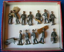 MIGNOT 54mm LEAD SOLDIER - US CIVIL WAR - CSA WORK PARTY