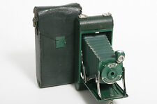 Kodak No. 1A Junior Pocket Camera Green colored bellows