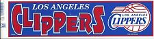 LOS ANGELES CLIPPERS NBA LICENSED BUMPER STICKER NEW