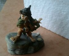 """LOTR by The Danbury Mint Gallery Figure """"Sam Gamgee"""" Boxed MINT"""