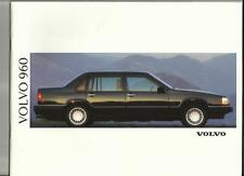 VOLVO 960 AND 960 24v  SALES BROCHURE 1992