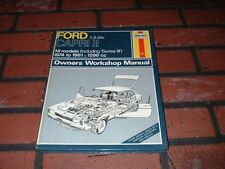 HAYNES MANUAL FOR FORD CAPRI MK2 1.3 OHV. INC SERIES 3. 1974 TO 1981.