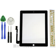 Display Touch Screen For iPad 3 Glass Digitizer Front Panel Replacement + Tool
