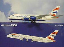 Hogan Wings 1:400 Airbus A380-800  British Airways G-XLEA  + Herpa Wings Katalog