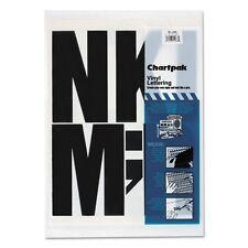 Chartpak Press-On Vinyl Uppercase Letters - 01184