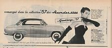 Publicité de Presse automobile Simca Aronde 1300  Grand Large 57