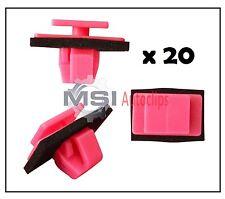 20 x KIA BODY SIDE MOULDING TRIM PLASTIC CLIPS FASTENERS 87756-3E500