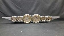 6 GAUGE WING STYLE DASH CLUSTER GOLD
