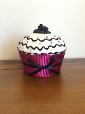 Cupcake Hot Pink Base Material Jewellery Box/Case