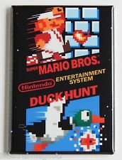 Super Mario Bros Duck Hunt FRIDGE MAGNET (2 x 3 inches) arcade video game nes