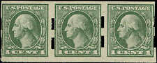 #531 STRIP-SCHERMACK TYPE III PERFS 1919 1c IMPERF OFFSET PRESS ISSUE MINT-OG/NH