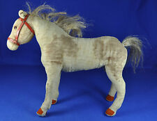 Steiff Spielpferd mit Messing FF Knopf / Toy Horse w. Brass FF Button, 1938-1943