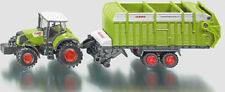 NEW FARMER SIKU 1846 Claas 850 Tractor with Quantum Trailer 1:87 Die-cast Model
