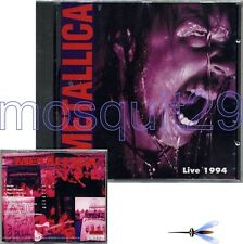 """METALLICA """"LIVE 1994"""" RARE CD MADE IN ITALY - SEALED"""
