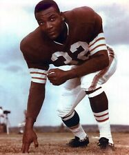 JIM BROWN CLEVELAND BROWNS 8X10 SPORTS ACTION PHOTO #02