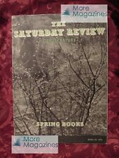 Saturday Review April 29 1939 LEONARD BACON C S FORESTER +++