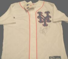 MARLINS EXPOS METS CLIFF FLOYD  SIGNED AUTOGRAPHED BASEBALL JERSEY ADULT M NWT