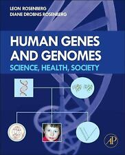 HUMAN GENES AND GENOMES - NEW HARDCOVER BOOK