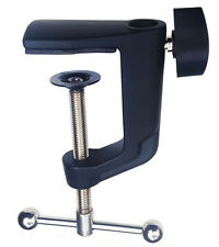 Table or Desk Clamp Style Mount for Mic Scissor Boom Arm