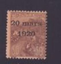 "MONACO STAMP TIMBRE N° 41 "" MARIAGE 50c + 50c ORPHELINS SURCHARGE "" NEUF xx TTB"