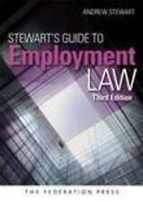Stewart's Guide to Employment Law by Andrew Stewart (Paperback, 2011)