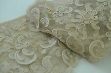 GORGEOUS VINTAGE ANTIQUE HAND MADE VENETIAN LACE PIECE SS113